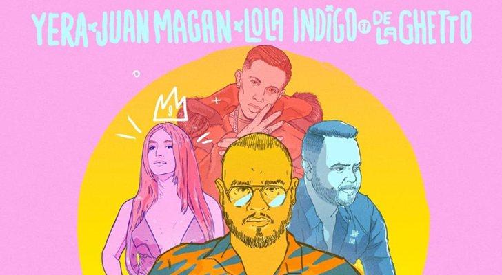 Cover Cancion Borracha Remix de Yera, Juan Magan, Lola Indigo y De La Ghetto